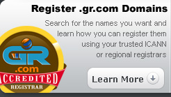 Register .gr.com Domains : Search for the names you want and learn how you can register them using your trusted ICANN or regional registrars